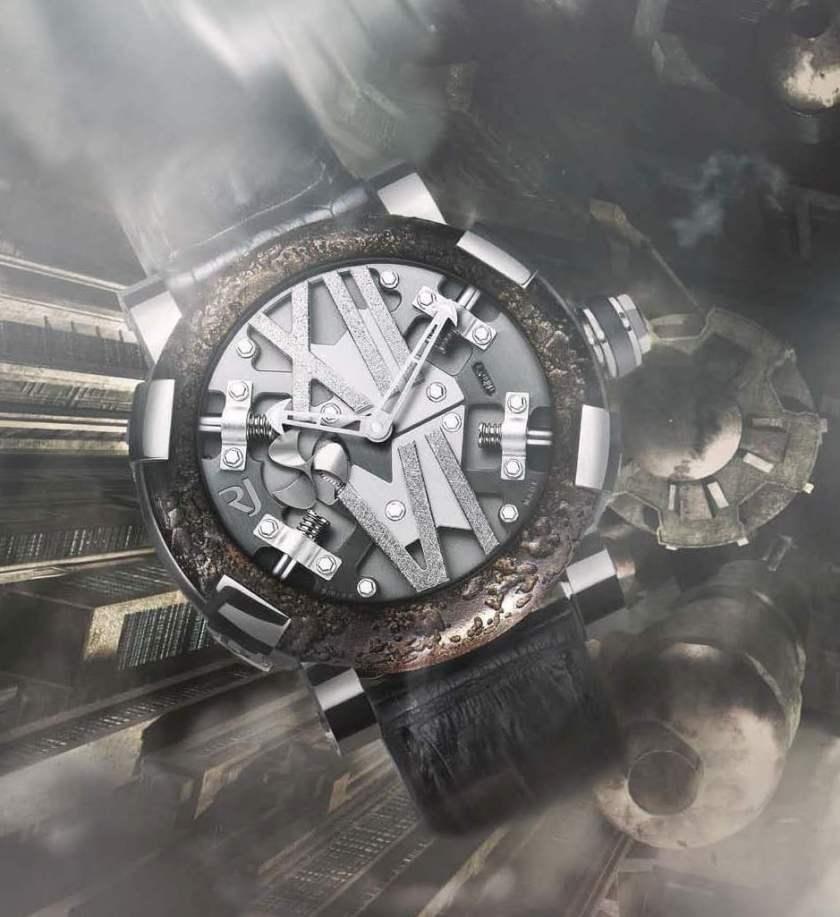 ROMAIN JEROME Steampunk Limited Edition watch