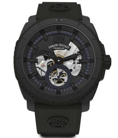 Armand Nicolet L09 Limited Edition black dlc watch
