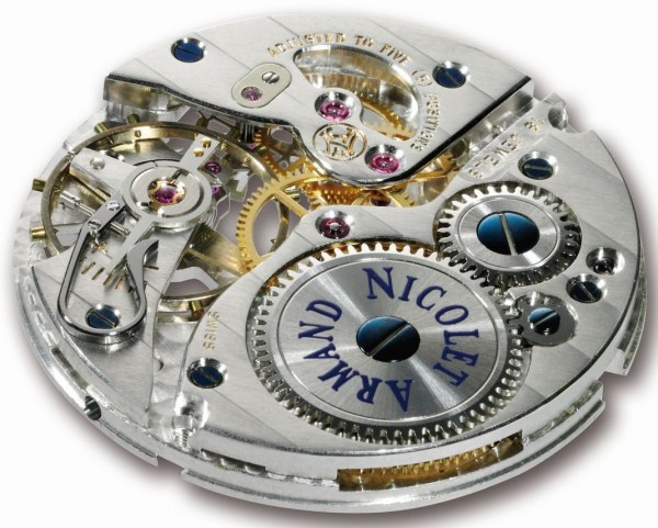 Armand Nicolet L09 Limited Edition movement