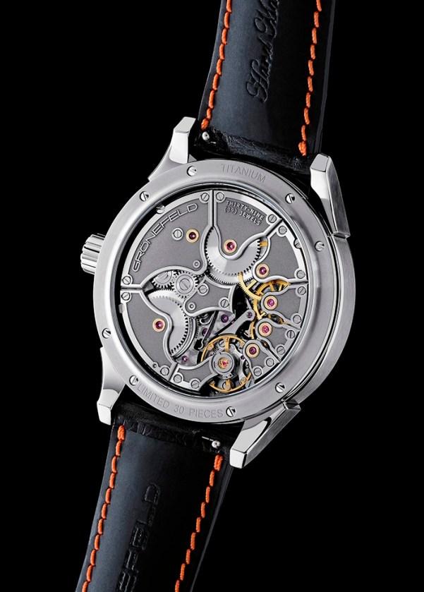 Grönefeld One Hertz watch movement