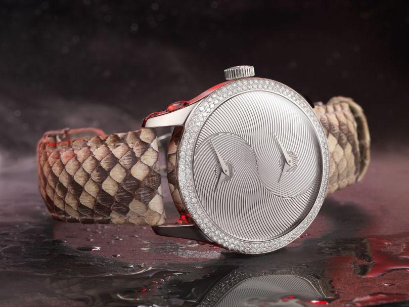 Saskia maaike Bouvier « Equilibre » watch