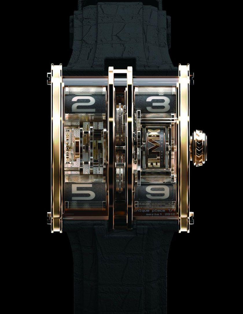 2LMX watch by Arnaud Tellier