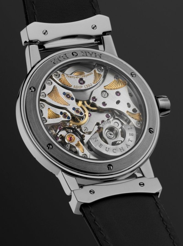 MAR Year 2008, Bacchus Collection, Jewellery line, white gold caseback