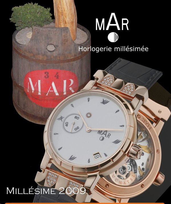 Montres MAR Bacchus Collection 2009, Jewellery Line