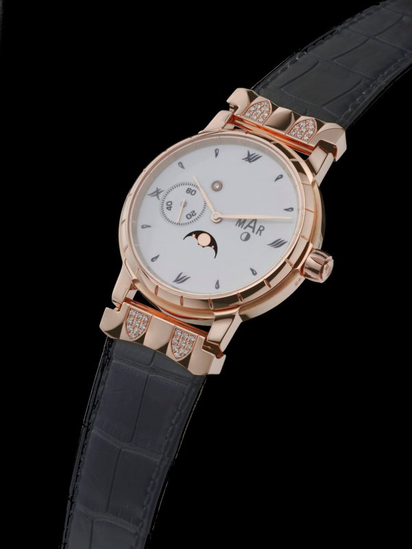 Montres MAR Bacchus Collection 2010, Jewellery Line, Complications with moon phase