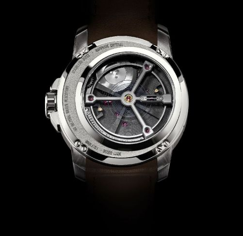 ANTOINE MARTIN Slow Runner - The First and Only Wristwatch in the World to Operate At 7200 Beats per Hour