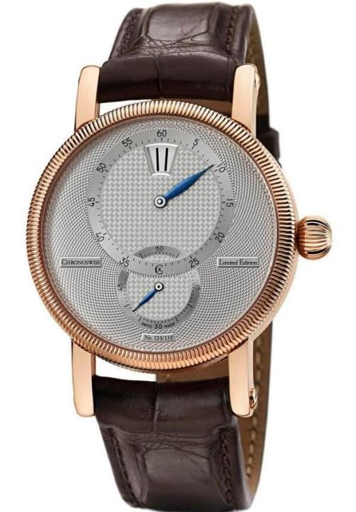 Chronoswiss Régulateur 30 Limited Edition watch CH 2811 R 18-karat red gold