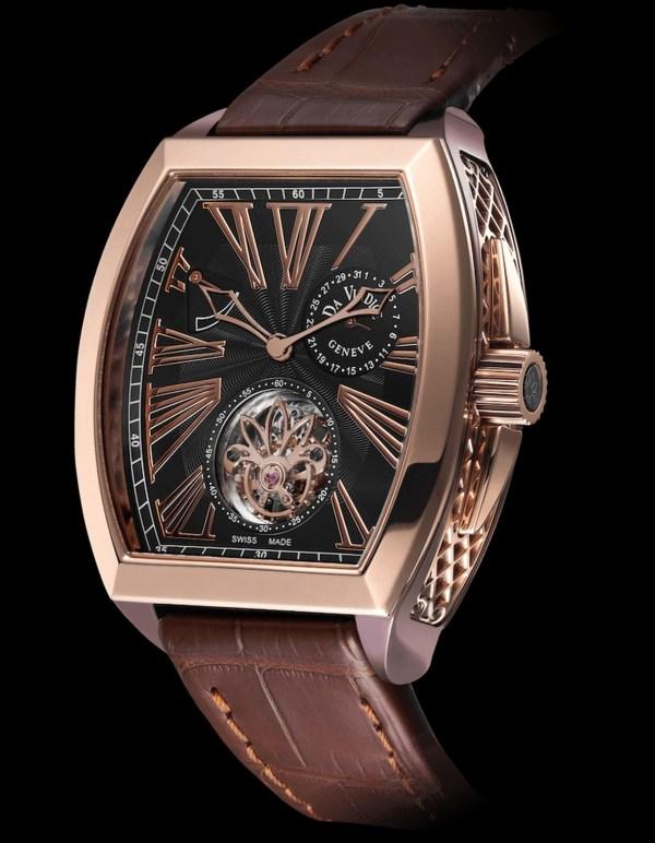 Da Vindice Vindex Tourbillon pink gold watch