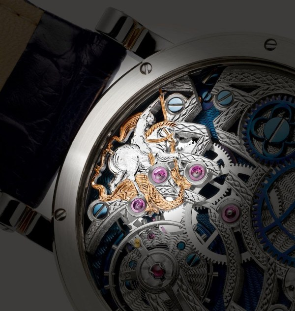 """Grieb & Benzinger Special Edition """"St. George"""" watch – Tribute to Russia's Patron Saint to Protect the Olympic Games in Sochi"""