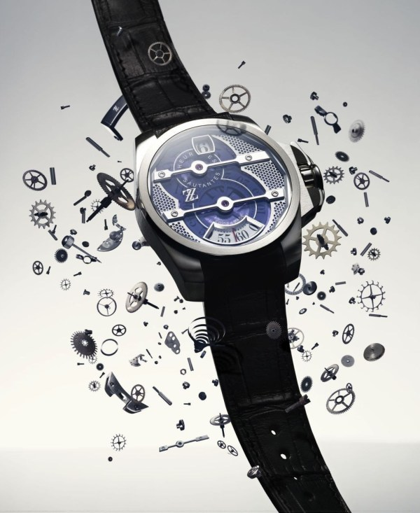 ZZ Tornade automatic stainless steel watch