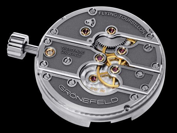 GRONEFELD PARALLAX TOURBILLON watch movement