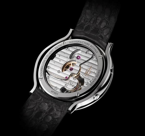 Manufacture Royale 1770 Flying Tourbillon watch hand-wound movement