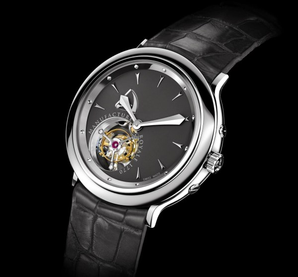Manufacture Royale 1770 Flying Tourbillon watch stainless steel