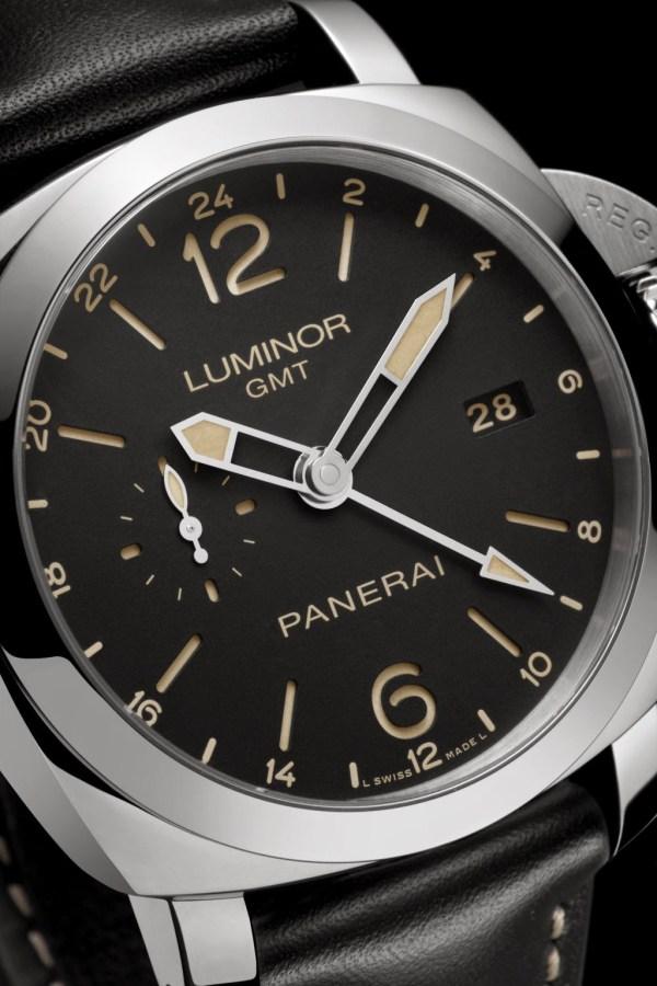Panerai Luminor 1950 - 3 Days GMT 24H Automatic Acciaio- 44mm (Reference: PAM00531)