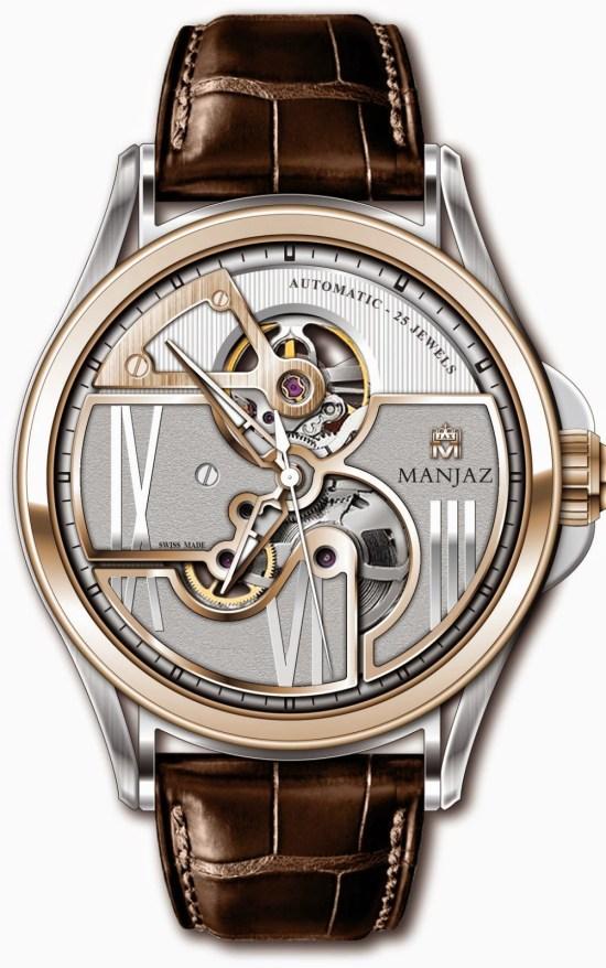 Manjaz Apollo Premium Skeleton watch (Ref. 7703M)