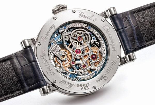 Grieb & Benzinger Blue Merit – Unique Watch Based on the Sensational Tourbillon Pour le Mérite by A. Lange & Söhne