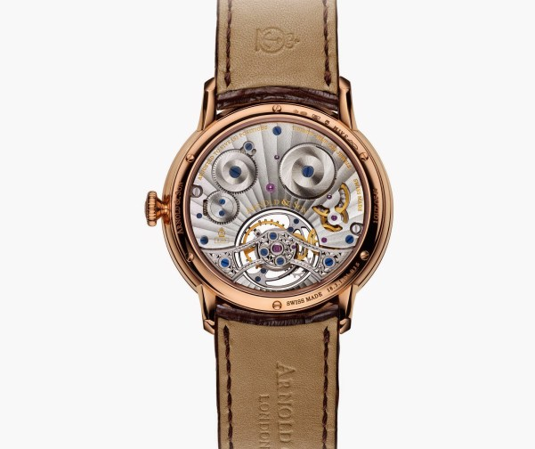 Arnold and Son UTTE Tourbillon New Version with Red Gold Case