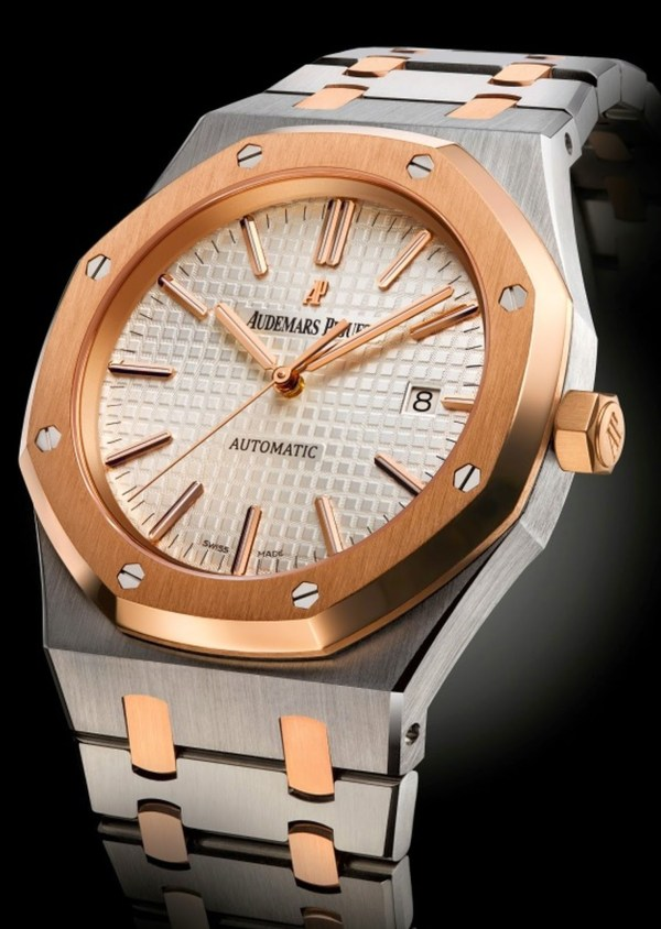 Audemars Piguet Two Tone Self-winding Royal Oak watch