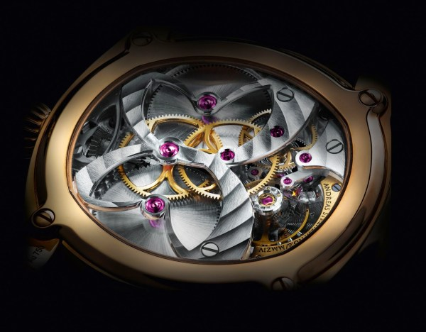 Andreas Strehler Sauterelle à Lune perpétuelle 2M - The Most Precise Lunar Phase Wrist Watch