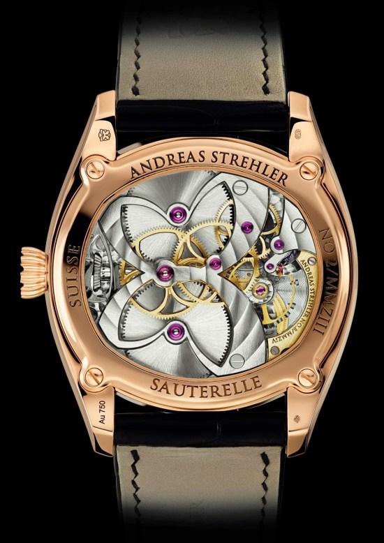 Andreas Strehler Sauterelle à Lune perpétuelle 2M - The Most Precise Lunar Phase Wrist Watch movement