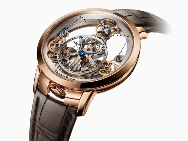 Arnold and Son Time Pyramid watch