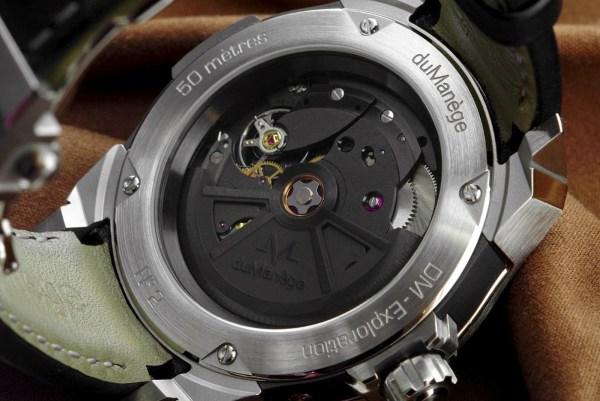 duManège DM-Exploration Silver Edition watch movement technotime