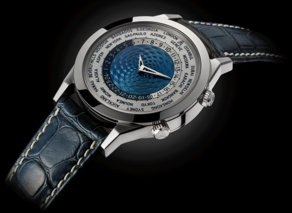 Andersen Genève Tempus Terrae 25th Anniversary Limited Edition white gold case blue dial