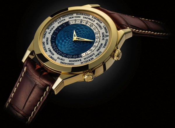 Andersen Genève Tempus Terrae 25th Anniversary Limited Edition yellow gold case blue dial