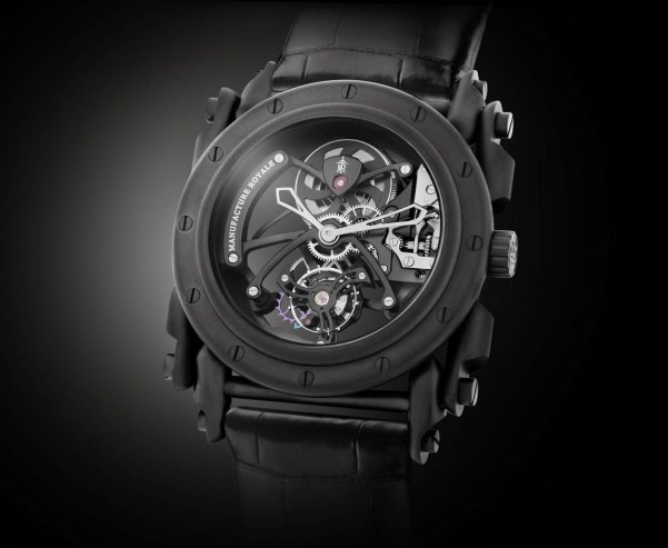 Manufacture Royale Androgyne Origine 245th Anniversary Limited Edition full black