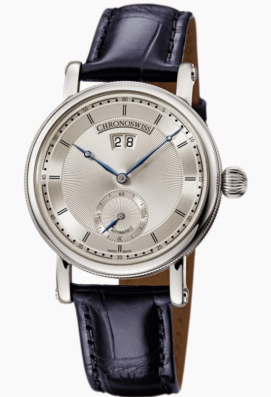 Chronoswiss Sirius Big Date Small SecondsAutomatic watch CH-8423: Stainless steel case