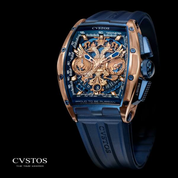 CVSTOS Challenge Jet-Liner 'Proud To Be Russian' Collection - Limited Edition Gerard Depardieu