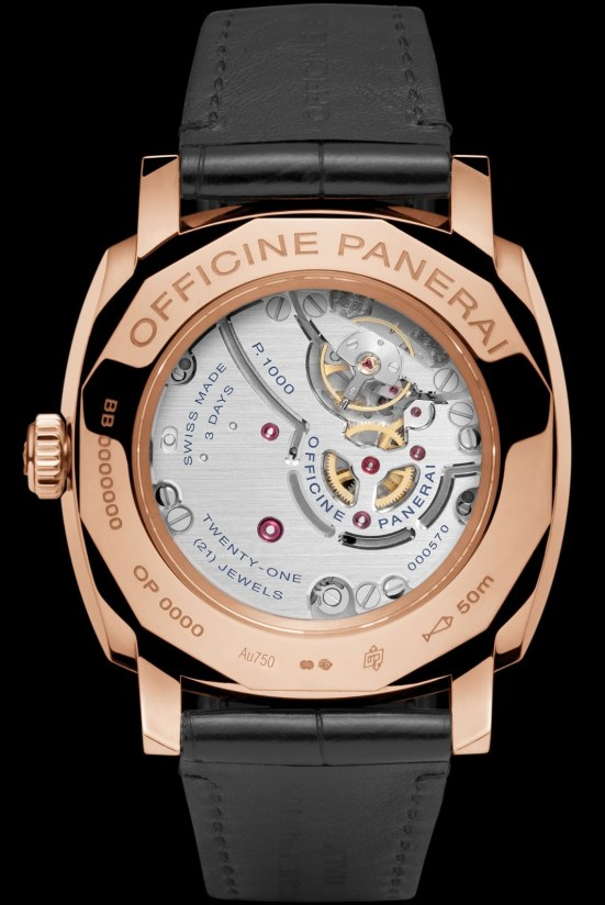 Panerai RADIOMIR 1940 3 DAYS ORO ROSSO – 42mm, Reference: PAM00575