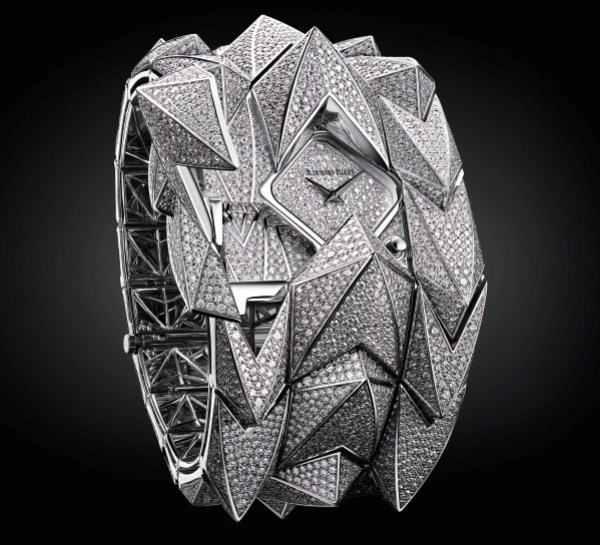 Audemars Piguet Diamond Fury cuff watch