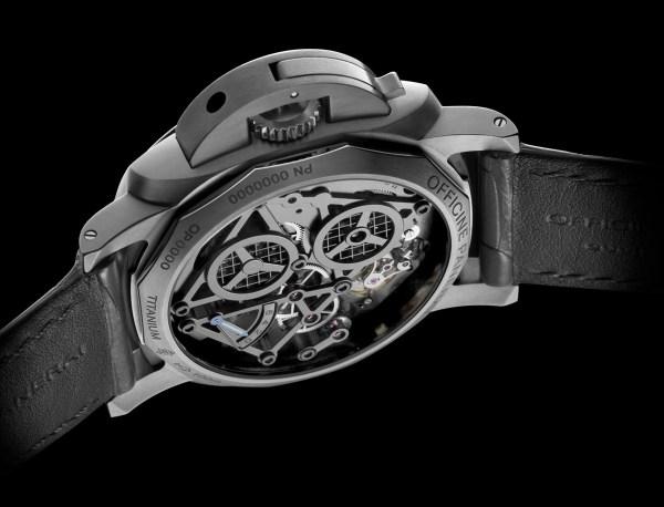 Panerai Lo Scienziato Luminor 1950 Tourbillon GMT Titanio 47mm (PAM00578)