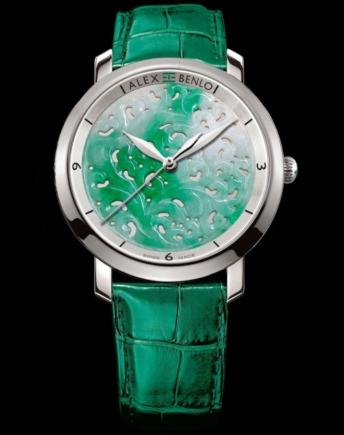 Alex Benlo Jade watch