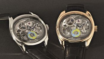 Andreas Strehler Lune Exacte red gold and platinum versions