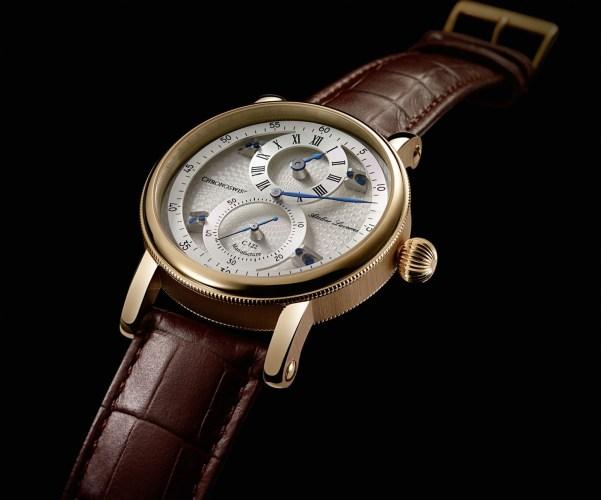 Chronoswiss Sirius Flying Regulator watch in gold