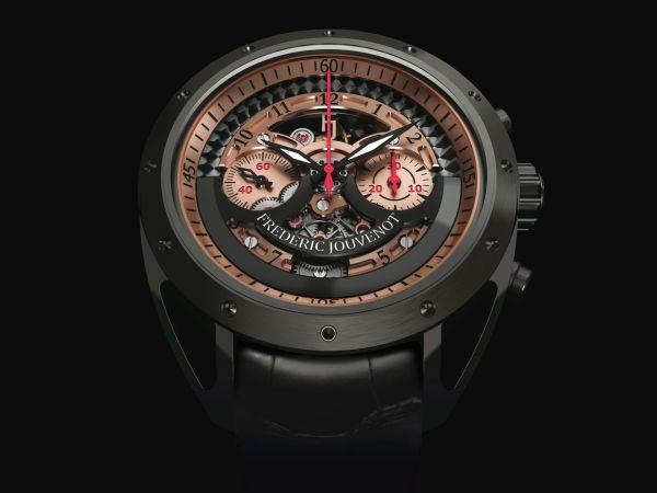 Frédéric Jouvenot FJ ACE-001 Automatic Chronograph watch with Titanium DLC case