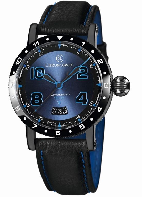 Chronoswiss Timemaster 150 New Versions - CH-2735