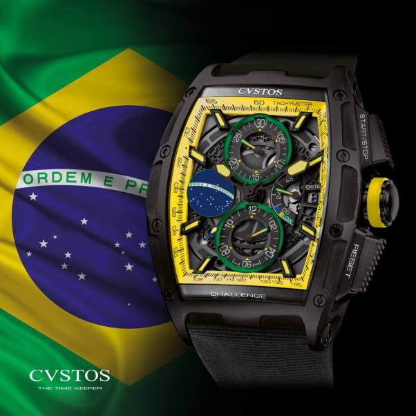 CVSTOS CHRONO II BRAZIL LIMITED EDITION