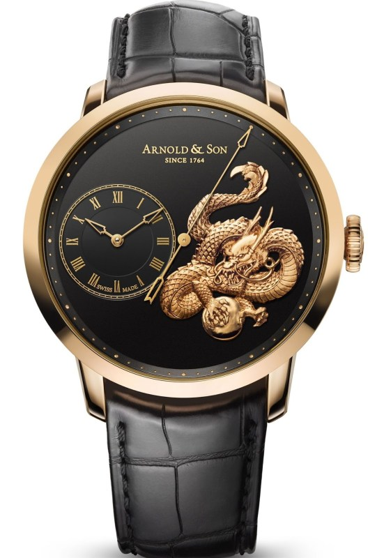 Arnold and Son Instrument Collection Métiers d'Art TB Dragon Limited Edition watch