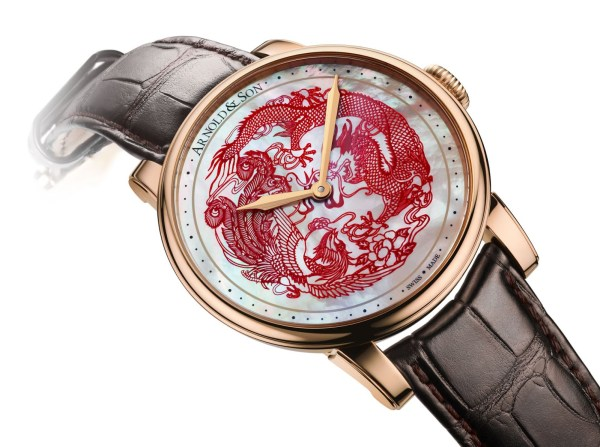 Arnold and Son HM Dragon and Fenghuang watch