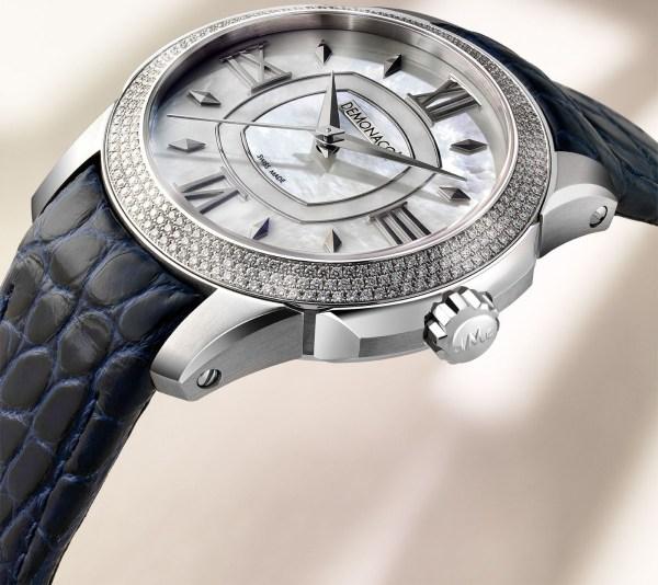Ateliers deMonaco Ronde de Monte-Carlo watch white gold diamond-set case