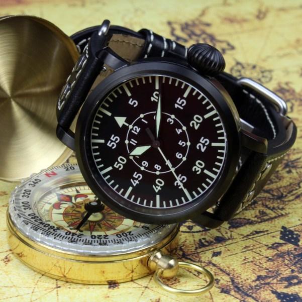 DELTAt SoRa WWII pilot watch