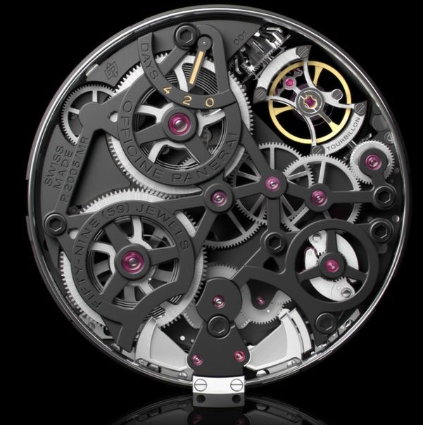 Panerai Radiomir 1940 Minute Repeater Carillon Tourbillon GMT – 49mm, Reference: PAM00600