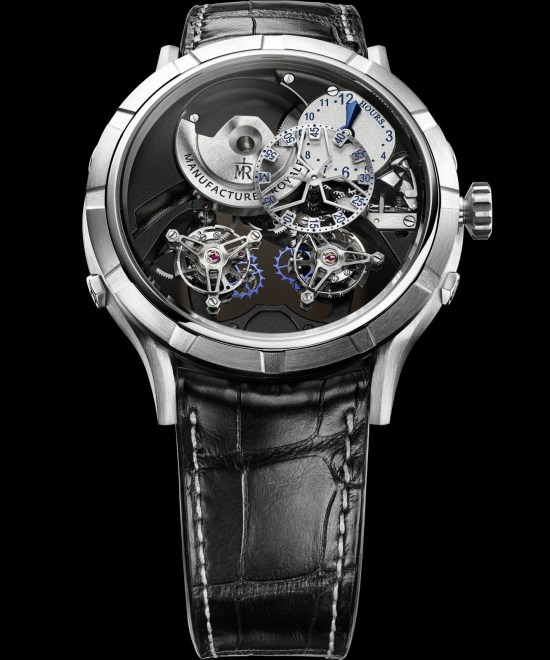 Manufacture Royale 1770 Micromegas Revolution watch with titanium case