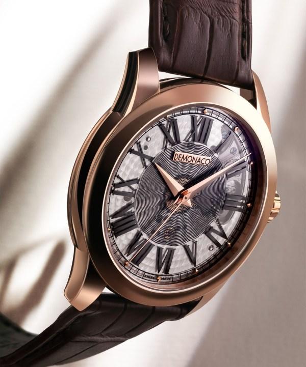 Ateliers deMonaco Poinçon de Genève Saphir Limited Edition watch