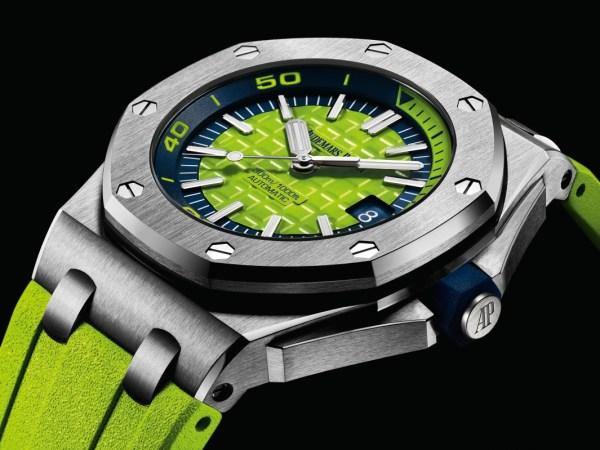 Audemars Piguet Royal Oak Offshore Diver new model with green dial