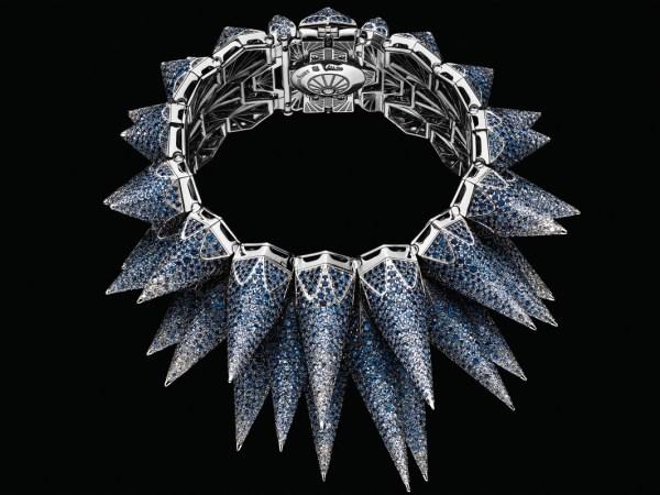 Audemars Piguet Diamond Outrage high-jewellery cuff watch