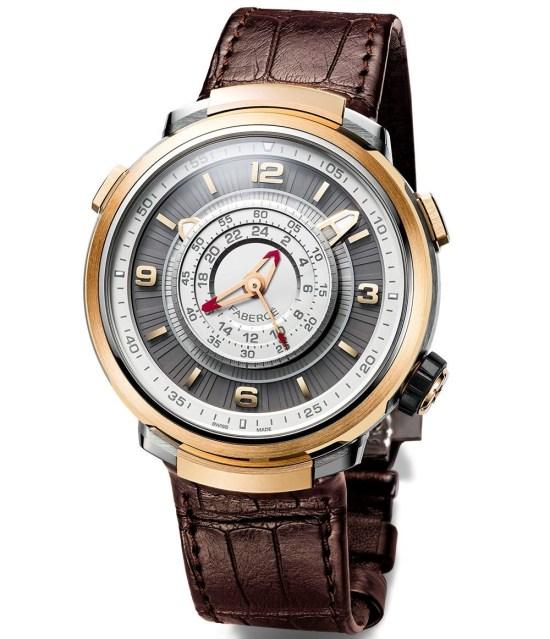 Fabergé Visionnaire Chronograph rose gold model